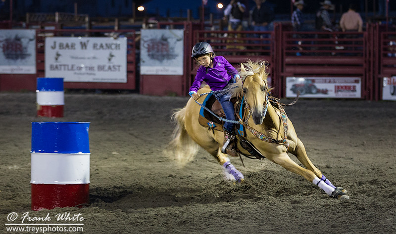 Cowgirl Barrel Racing #7