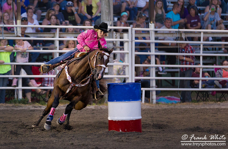Cowgirl Barrel Racing #5