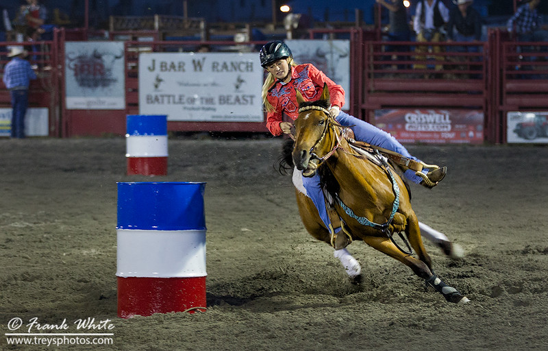 Cowgirl Barrel Racing #4