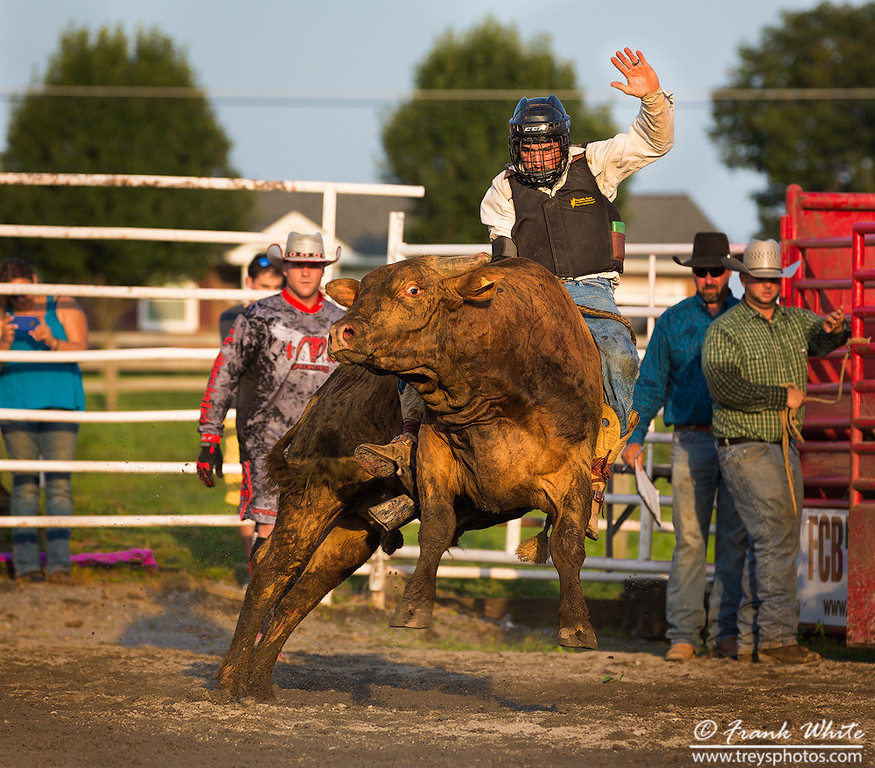 Rodeo action at the J-Bar-W Rance near Frederick, MD in 2015
