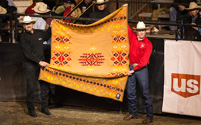 Steve Campbell During Blanket Giveaway PBR Sept 2012