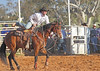Champion 'Rope & Tie' exponent Mr. Clay Bush of Yass.