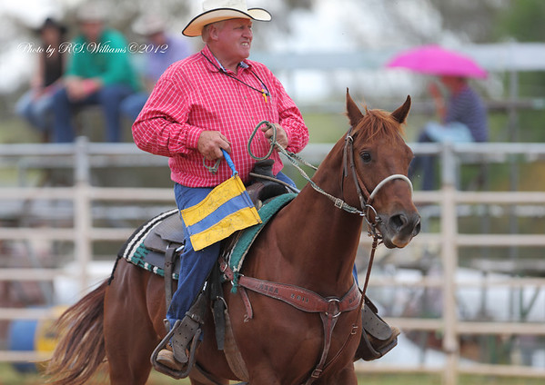 "The Southern Zone's ""MR.RODEO"".....Chris Wilson from Wagga.....a popular figure around the rodeo circuit in southern NSW."