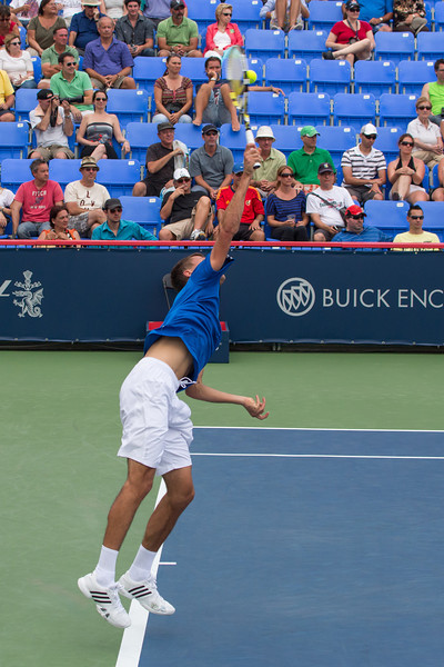 Photos from the second round of the 2013 Rogers Cup Masters 1000 tennis tournament in Montreal