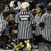 "The motley crew of officials meet before the games begin.<br /> The WFTDA Roller Derby Championships were held this weekend at the 1st Bank Center in Broomfield<br /> For more photos of the Roller Derby, go to  <a href=""http://www.dailycamera.com"">http://www.dailycamera.com</a><br /> Cliff Grassmick / November 12, 2011"