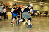 Men's CNY Roller Derby Bout in the JFK Civic Arena in Rome, New York.
