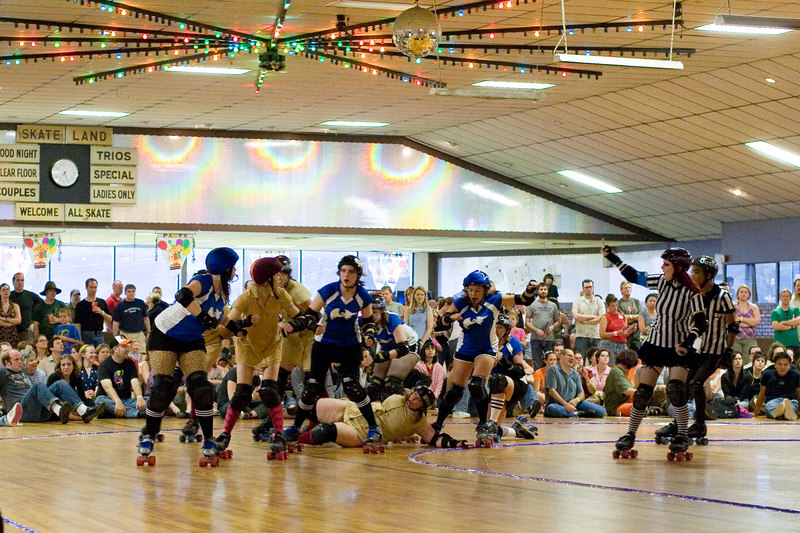 Speed Regime vs. Junkyard Dolls.