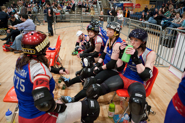 DC All-Stars vs. Maine Port Authorities All-Stars, Scare Force One vs. DC DemonCats