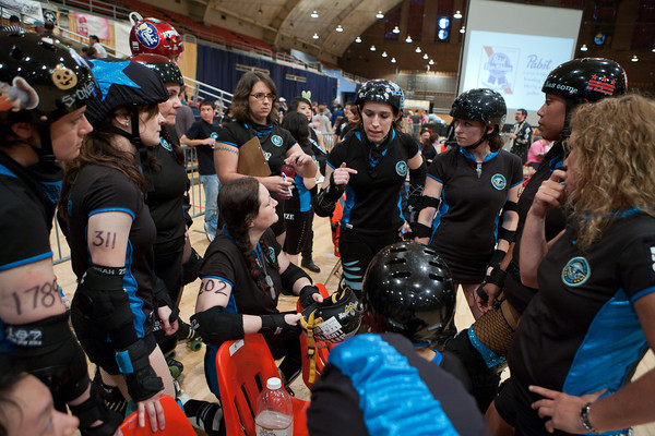 DC Rollergirls Season 5 Championship Bout between the DC DemonCats and Scare Force One, preceded by an expo bout featuring the Cherry Blossom Bombshells and the Capital Offenders