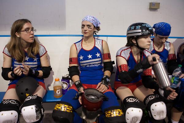 DC Rollergirls All Stars vs Providence All Stars at ECDX 2011
