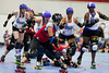 DC Rollergirls All-Stars vs River City, Capital Offenders vs Salisbury, 07/14/2012 :
