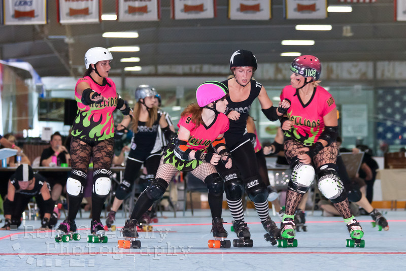 Hellions of Troy versus Hudson Valley Horrors at the 2011 Empire Skate Showdown.