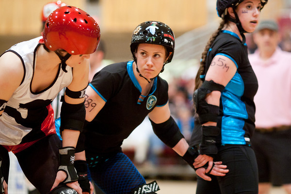 Martha Squashington of Scare Force One shows loyalty and hostility at the same time, vs. DC DemonCats - 03/27/2011