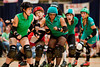 Rachel MadHo of the DC DemonCats is engulfed by Majority Whips - 10/09/2011
