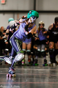 A few photos from the Nov. 2 Green Mountain Derby Dames double header. Black Ice Brawlers vs. Elm City and Grade A Fancy vs. Garden State. More photos available at: http://www.benjamindbloom.com/Sports/Roller-Derby/GMDD-Nov2/n-H4q2W/