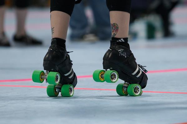 Roc City B-Sides vs Roller Rebel Bruisers