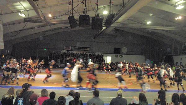 Roller derby spring bout 2010