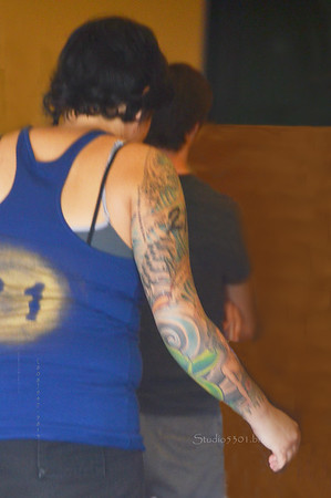 Roller Derby player 21 tatoo 2