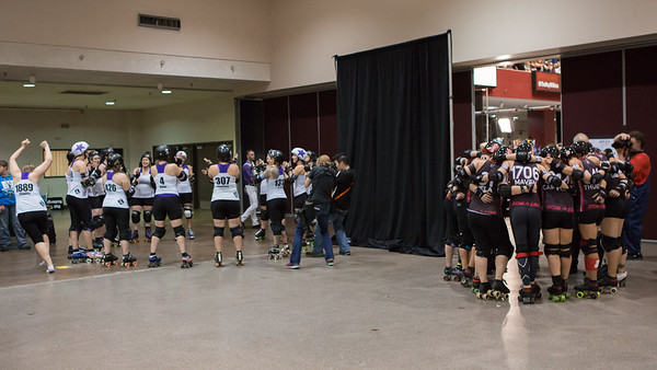 Rose City VS Gotham WFTDA 2015 Title Game