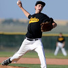 "Crystal Landscape Supplies pitcher Kevin Laws pitches during a baseball game against Legion Post 70 on Wednesday, June 13, at Roosevelt High School in Johnstown. For more photos of the game go to  <a href=""http://www.dailycamera.com"">http://www.dailycamera.com</a><br /> Jeremy Papasso/ Boulder Daily Camera"