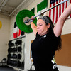 "Rosanne Smario-Allen works on the Snatch which is one of the two olympic weightlifting events at Flatirons CrossFit‎ on Tuesday December 4, 2012.<br /> For more photos go to  <a href=""http://www.dailycamera.com"">http://www.dailycamera.com</a><br /> Photos by Paul Aiken"