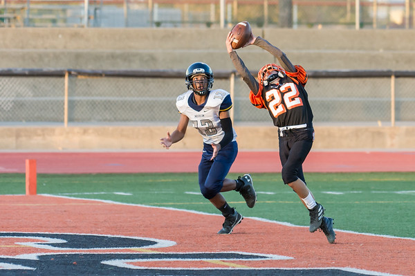 Roseville High School Freshman Football vs Inderkum 10-31-19