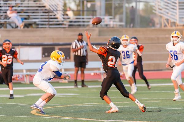 Roseville High School Freshman Football vs Sutter  10-10-19