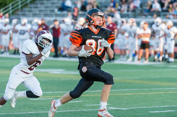 Roseville High School Freshman Football vs Woodcreek 9-19-19