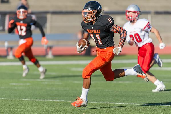 Roseville High School JV Football vs Antelope  9-27-19