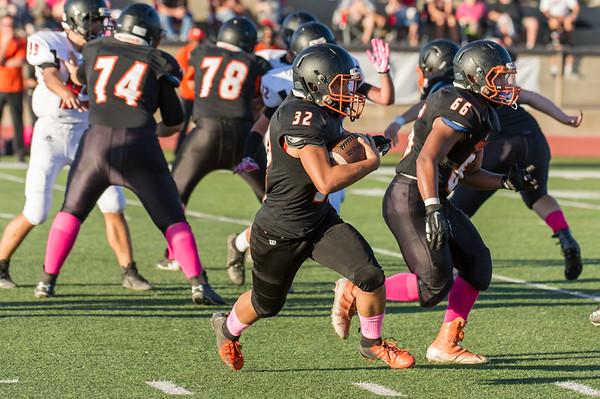 Roseville High School JV Football vs Bella Vista 10-19-18
