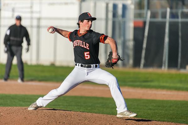 Roseville High School Varsity Baseball vs Woodcreek 3-13-19