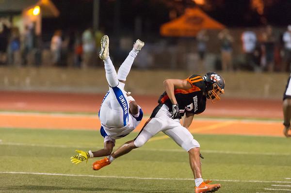Roseville High School Varsity Football vs Bear Creek 8-23-19