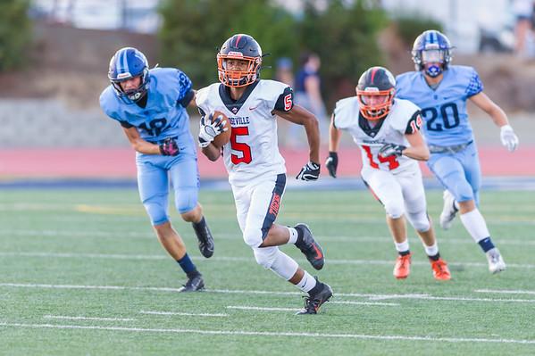 Roseville High School Varsity Football vs Oakmont 8-30-19