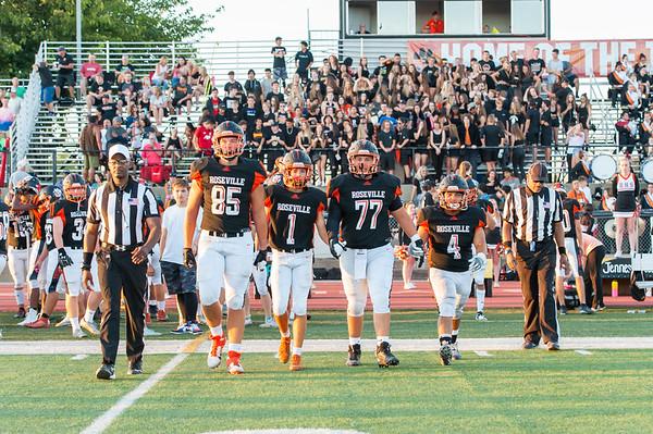 Roseville High School Varsity Football vs Rio Linda 9-13-19