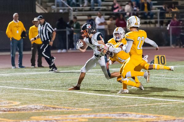 Roseville High School Varsity Football vs Yuba City  10-18-19