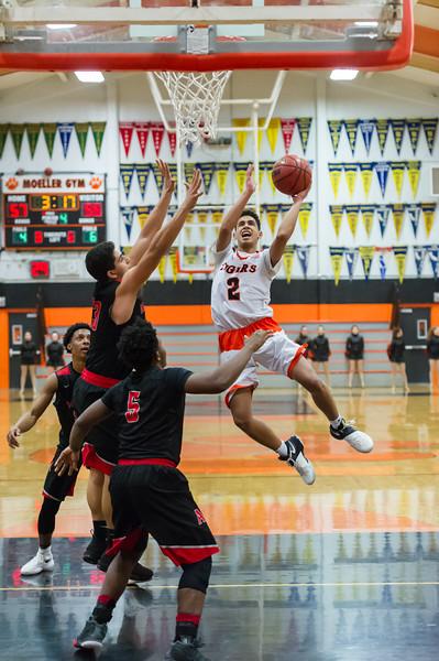 Roseville Varsity Boys Basketball vs. Antelope 1-23-19