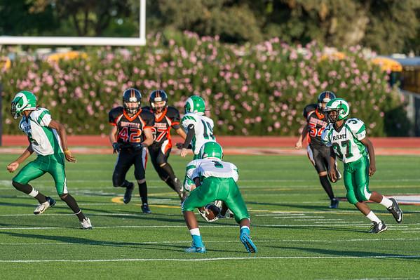 Roseville Jr Tigers Midget vs San Joaquin 9-26-15