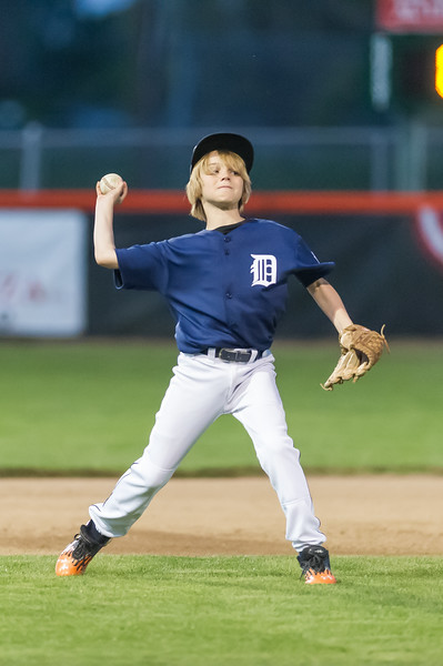 2014 Roseville West Little League Major Tigers games 3-4 (vs Orioles & Yankees)