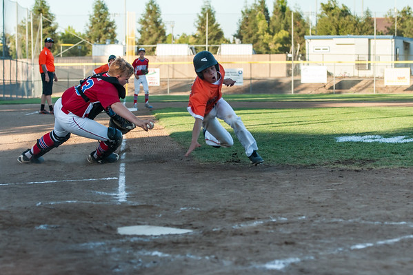 Roseville West Little League Jr. All Stars vs Folsom National 7-6-16