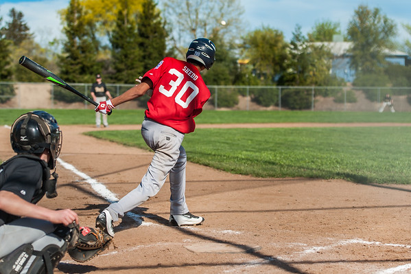 Roseville West Little League Jr. Angels vs D-backs 3-19-16