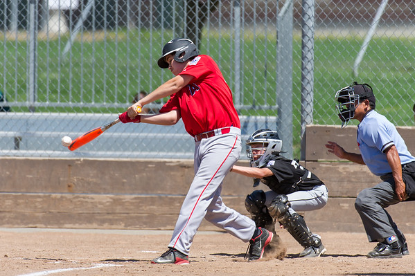 Roseville West Little League Jr. Angels vs Giants 5-14-16