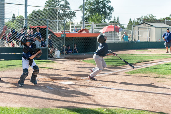 Roseville West Little League Major Tigers vs Red Sox 5-29-14