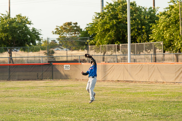 Roseville West Little League Major Rangers vs Dodgers 5-22-15