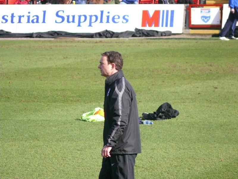 County manager Derek Adams.