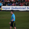 Referee Alan Muir