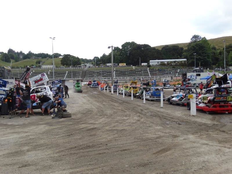 Rotorua speedway 16 januari
