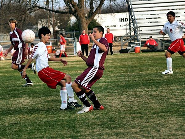 Round Rock High Freshman Soccer 2008