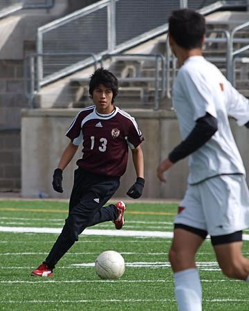 RRHS Dragon JV Maroon Soccer vs. Westwood 1.30.2010