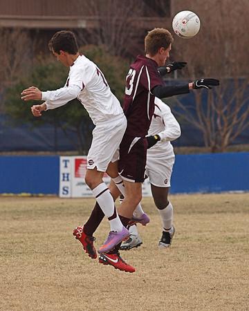 RRHS Dragon Varsity Soccer vs. Killeen 1.14.2011
