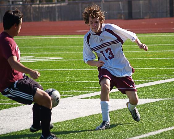 Round Rock High School  JV Soccer 2009